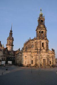 Hofkirche und Hausmannsturm