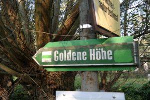 Wanderung zur Goldenen Höhe Dresden