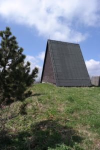 Hütte am Kammweg