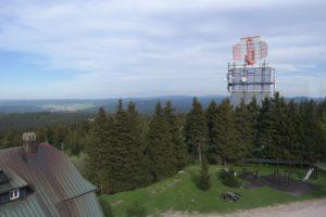 Radarstation auf dem Auersberg