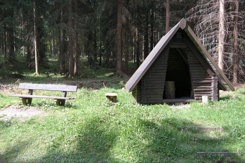 Rasthütte am Kammweg