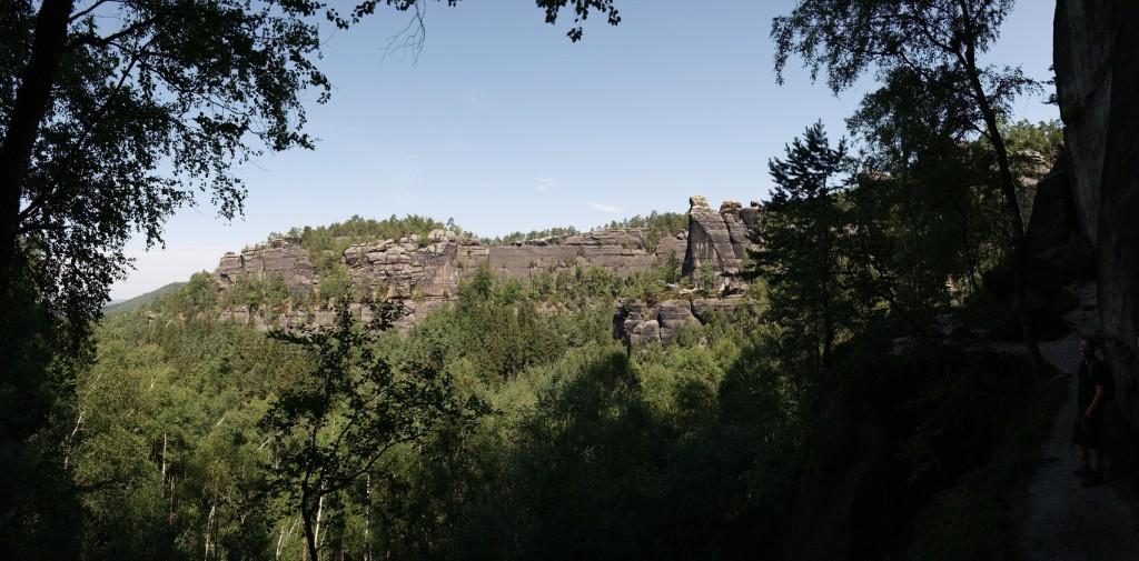 Felsformationen in der Sächsischen Schweiz