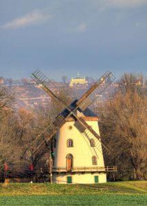 Gohliser Windmühle, Radler59 (CCSA)