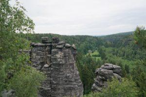 Blick vom Sachsenstein