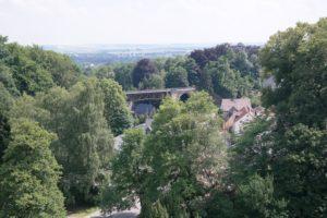 Blick auf das Rabensteiner Viadukt