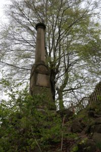 Triangulationssäule auf dem Borsberg