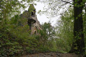 Künstliche Ruine auf dem Schlossberg Pillnitz