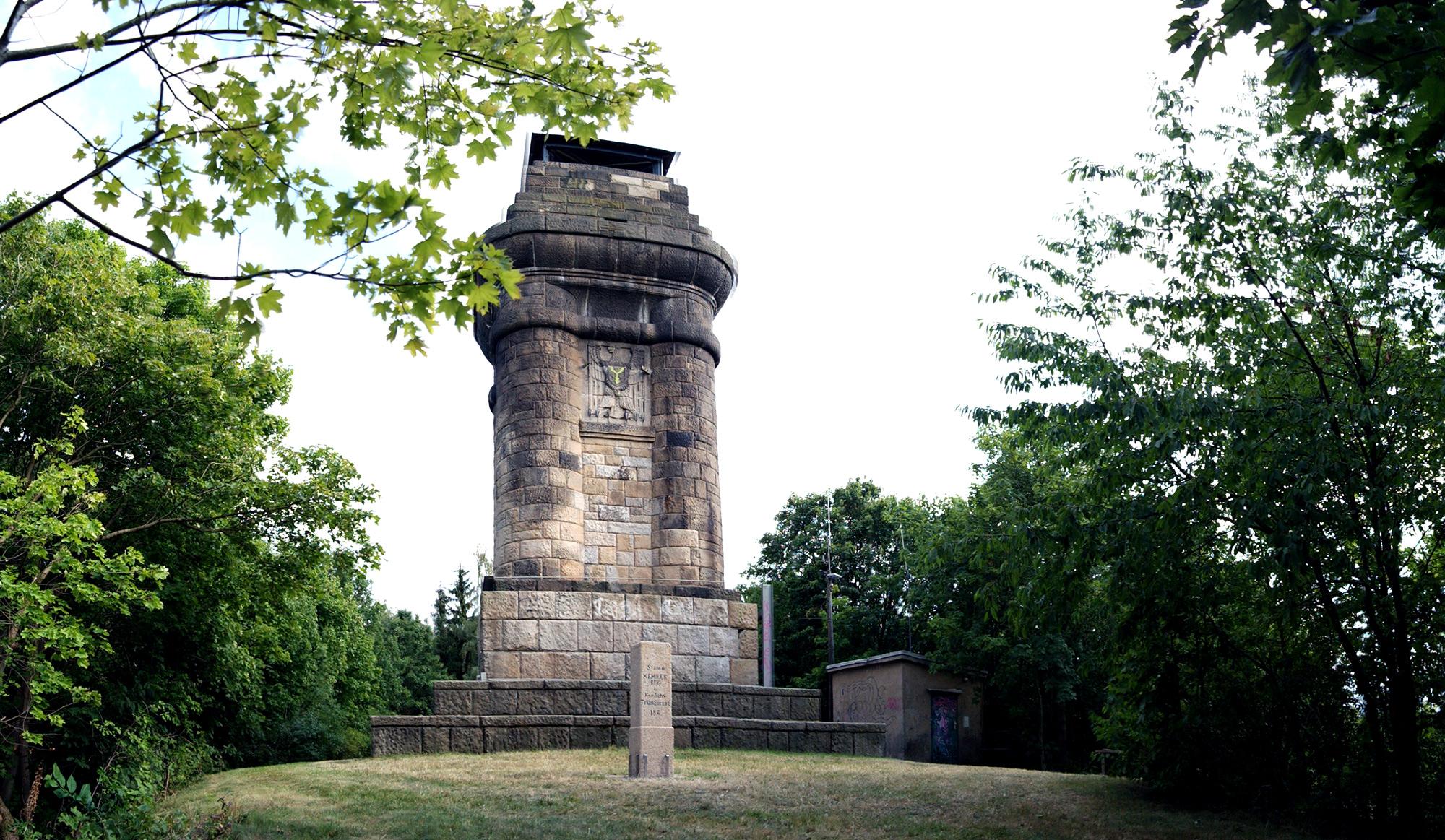 Der Aussichtsturm Kemmler in Plauen