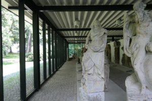 Lapidarium auf dem Schlossberg Chemnitz