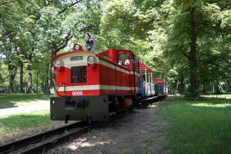 Parkeisenbahn im Küchwald Chemnitz