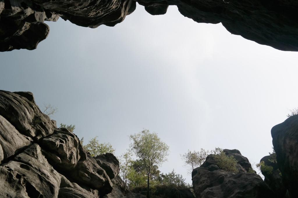 Gratzer Höhlen im Zittauer Gebirge
