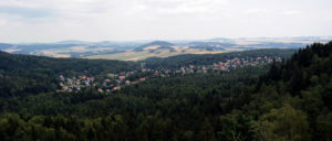 Blick auf Jonsdorf