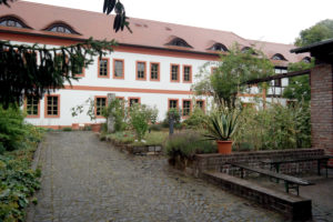 Klostergarten im Kloster St. Marienthal