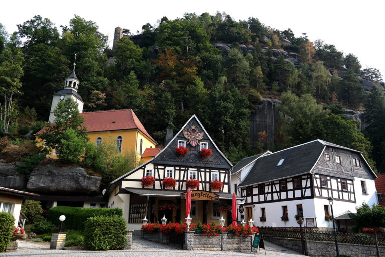 Oybin mit Bergkirche