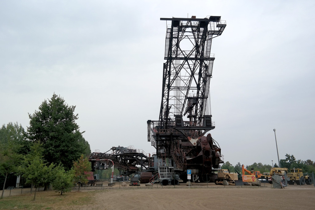 Schaufelradbagger in Berzdorf