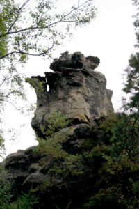 Die Teekanne in der Felsenstadt Jonsdorf