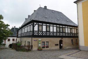 Fachwerk in Wolkenstein