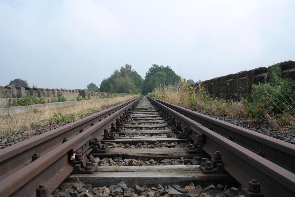 Auf dem Viadukt in Obercunnersdorf