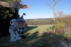Ausblicke auf das Vogtland und Erzgebirge