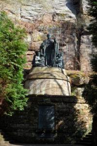 Wagner-Denkmal im Liebethaler Grund