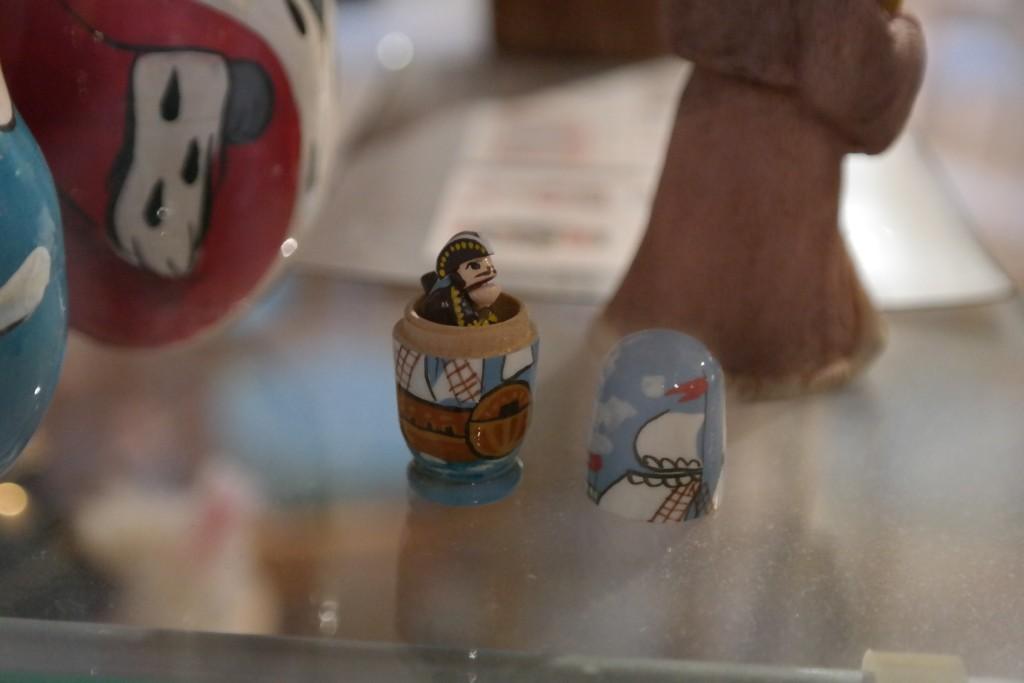 Einer der kleinsten Nussknacker im Museum