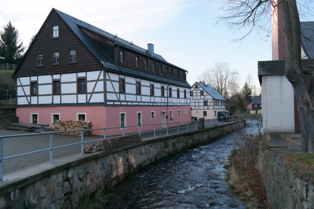 Freiberger Mulde in Rechenberg-Bienenmühle