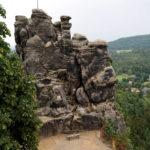 Der Nonnenfelsen - Ausflugsziel für Wanderer und Kletterer