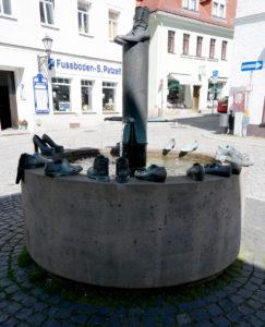 Schuhbrunnen in Dippoldiswalde
