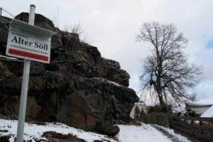 Aussichtsfelsen Alter Söll in Schöneck