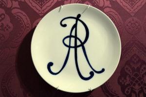 Altes Logo der Manufaktur Meissen
