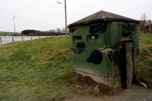 Bunker an der DDR-Mauer in Mödlareuth