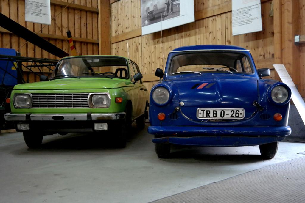 DDR- Autos Wartburg und Trabant