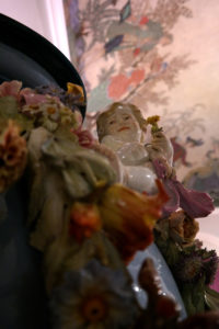 Dekovase aus Meissner Porzellan