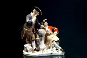 Freimaurer mit Globus, Kändler von 1742