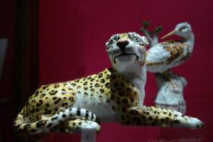 Tierplastik aus Meissner Porzellan