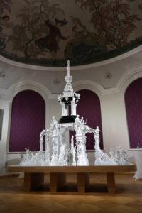 Zweites Obergeschoss im Porzellan-Museum Meissen