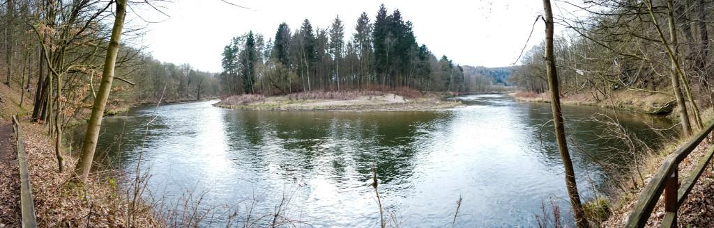 Zwickauer Mulde bei Wechselburg