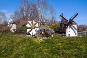 Windmühlen in der Miniwelt Lichtenstein