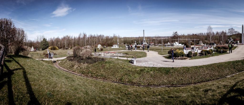 Panorama der Miniwelt Lichtenstein