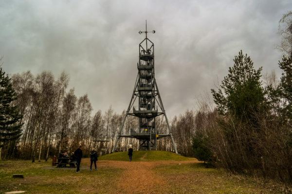Glückauf-Turm auf der Deutschlandschachthalde