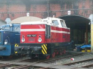 Lok V 60 1120 im Sächsischen Eisenbahnmuseum Chemnitz Rainerhaufe in der Wikipedia auf Deutsch