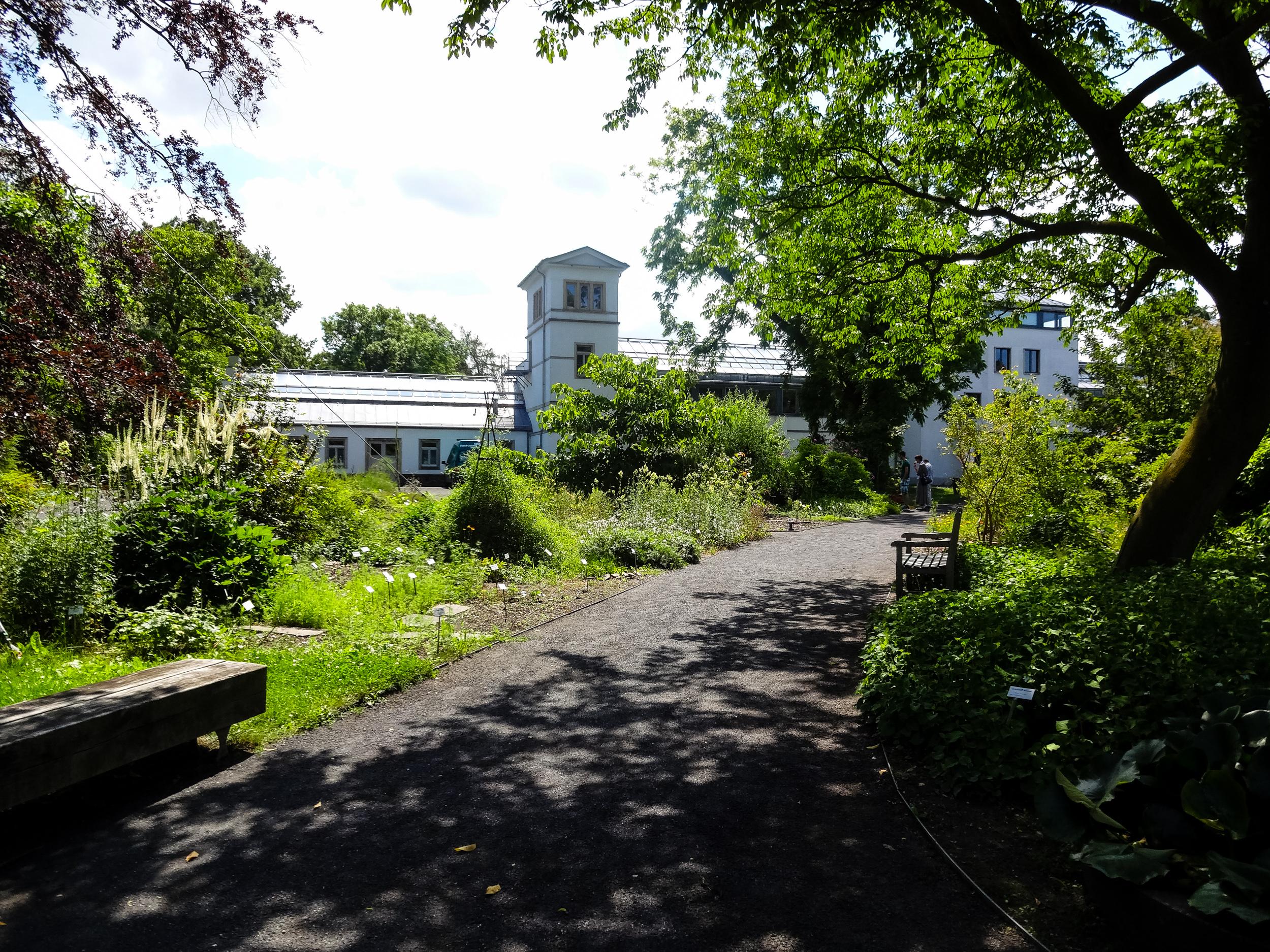Botanischer Garten in Leipzig