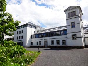 Gewächshaus des Botanischen Garten Leipzig