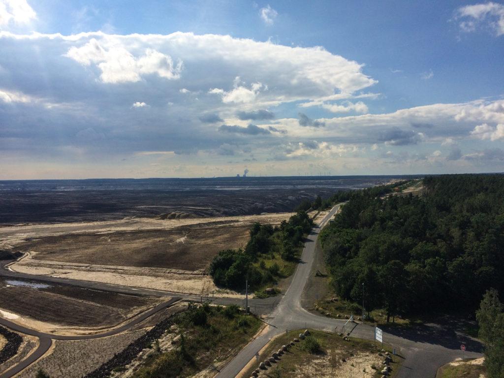 Aussicht auf den Tagebau Nochten