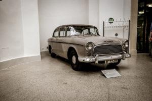 Ausstellungsexemplar im Verkehrsmuseum Dresden
