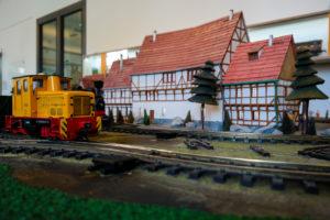 Modelleisenbahn im Verkehrsmuseum Dresden
