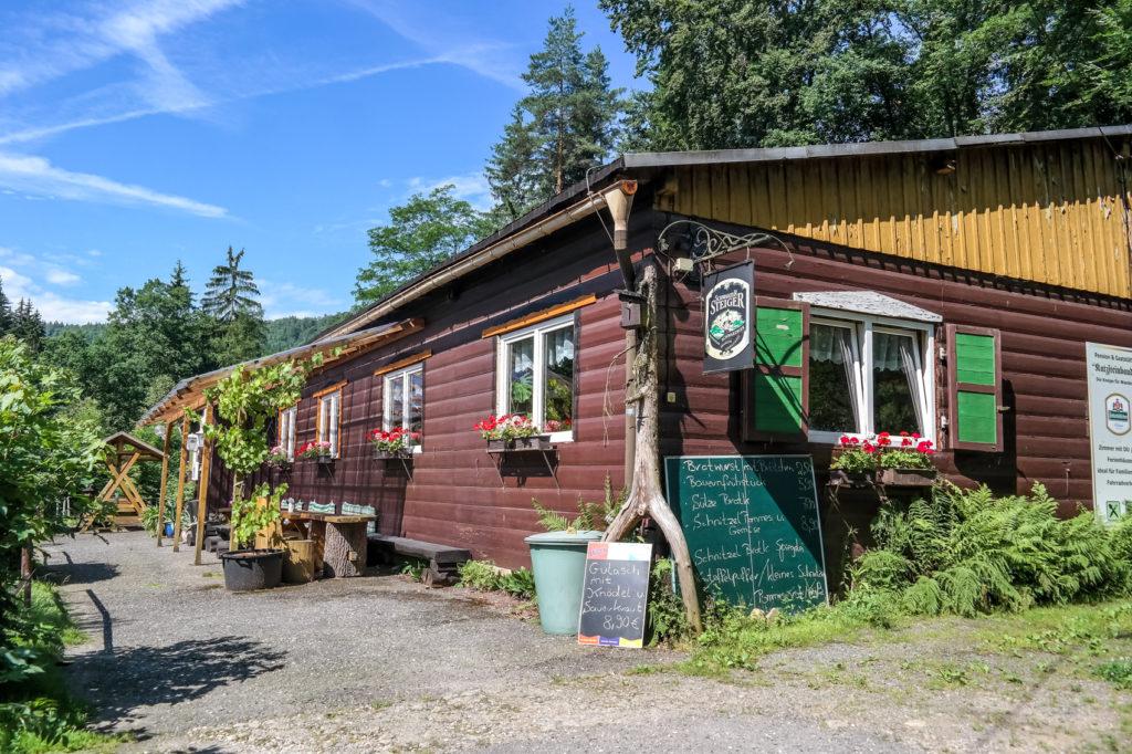 Katzsteinbaude in der Sächsischen Schweiz