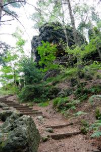 Der Spitzstein in der Sächsischen Schweiz