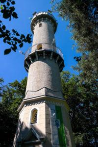 Der König-Albert-Turm in Weinböhla