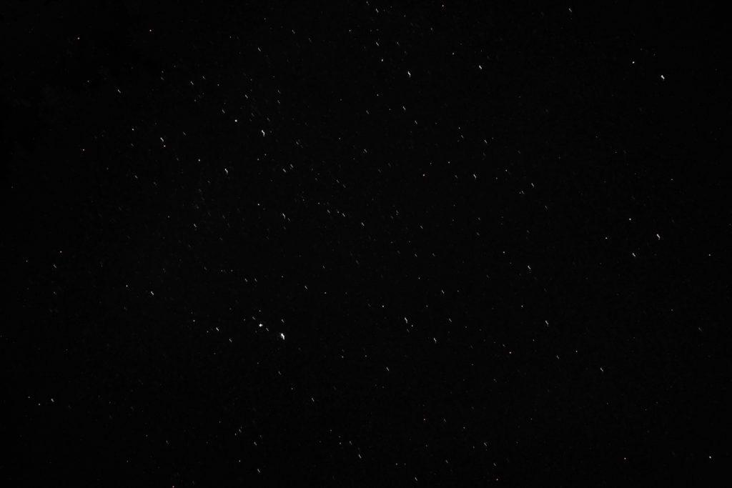 Nachthimmel auf dem Gohrisch